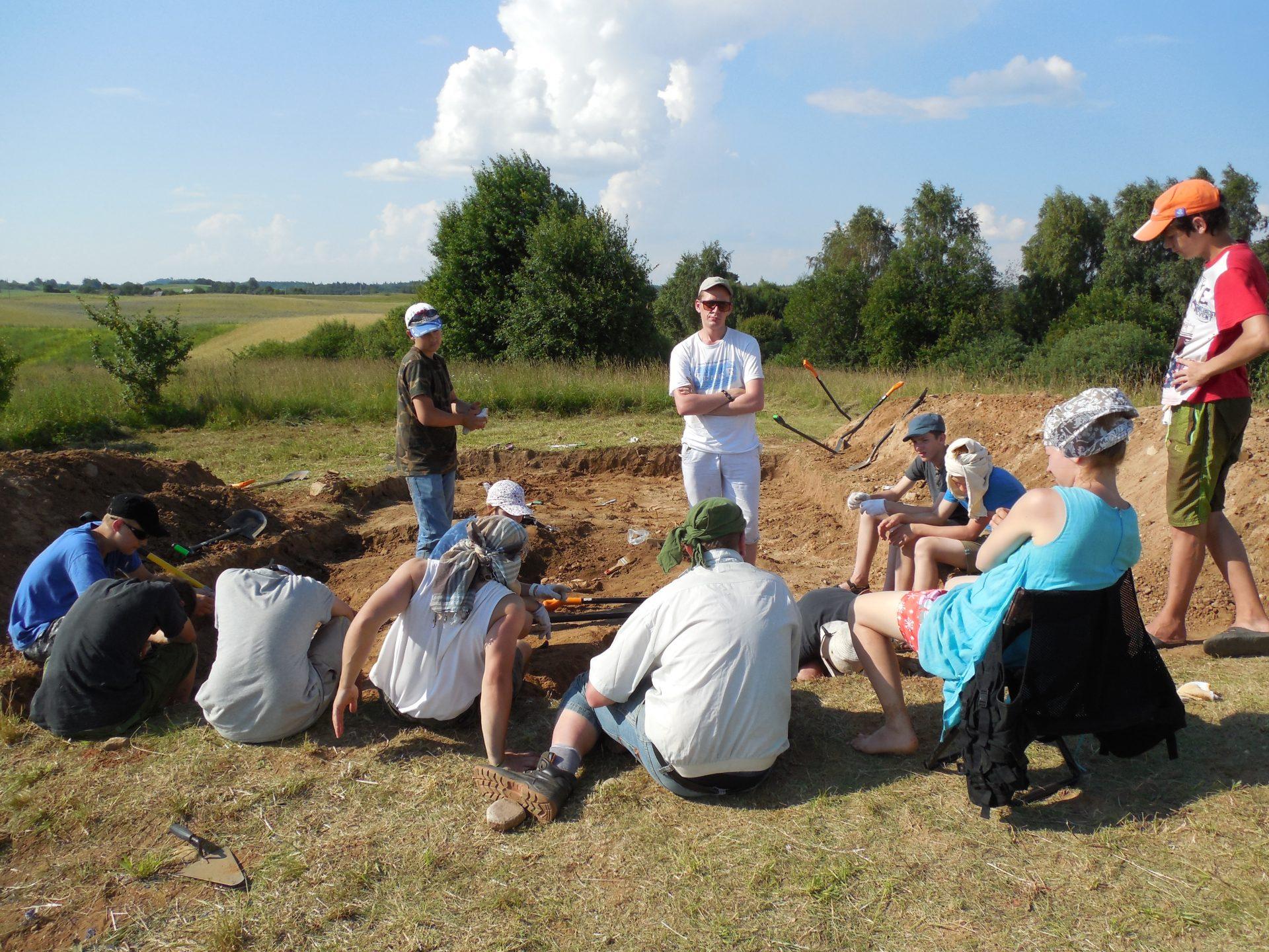 Литва: раскопки