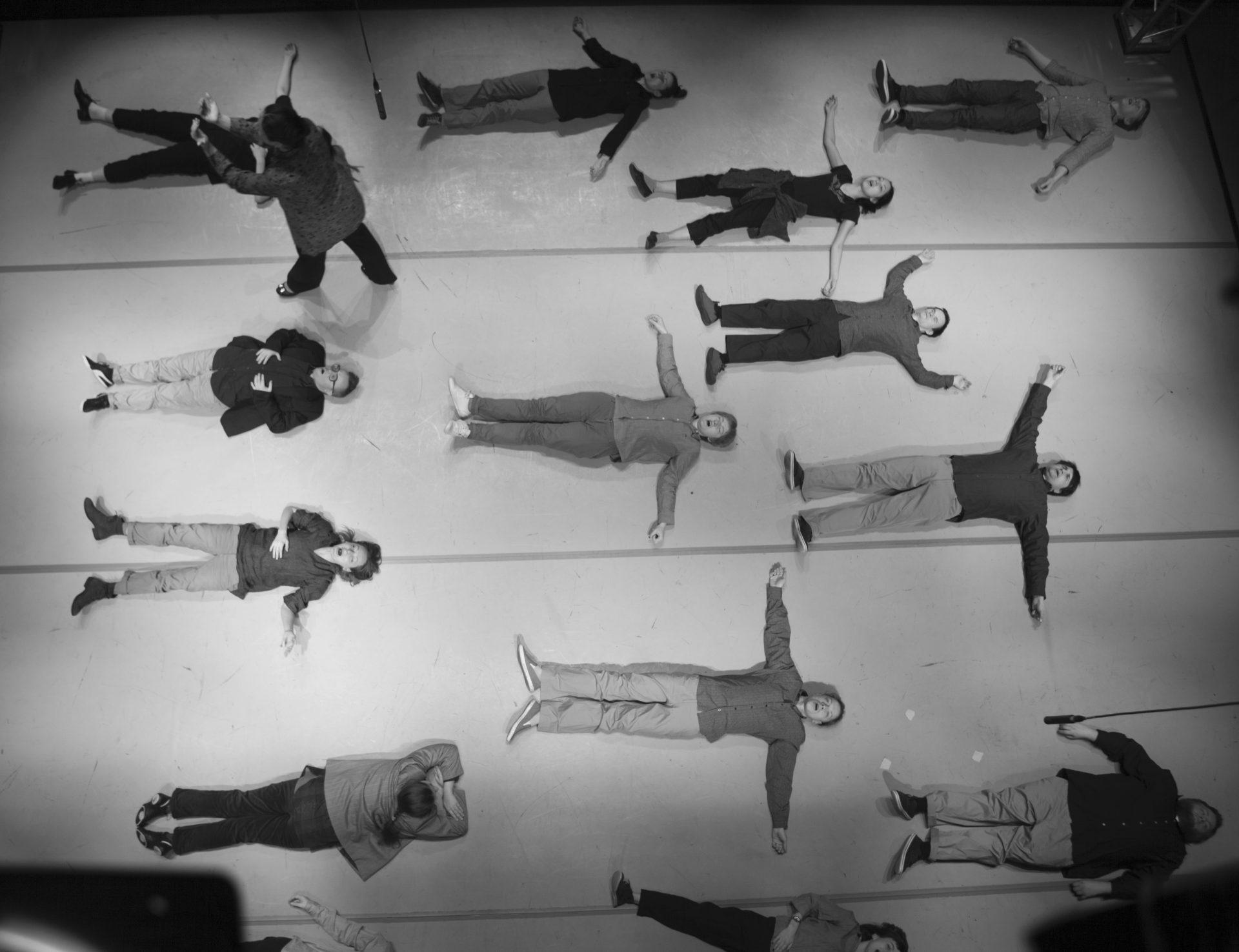 Сцена из спектакля «Язык птиц»